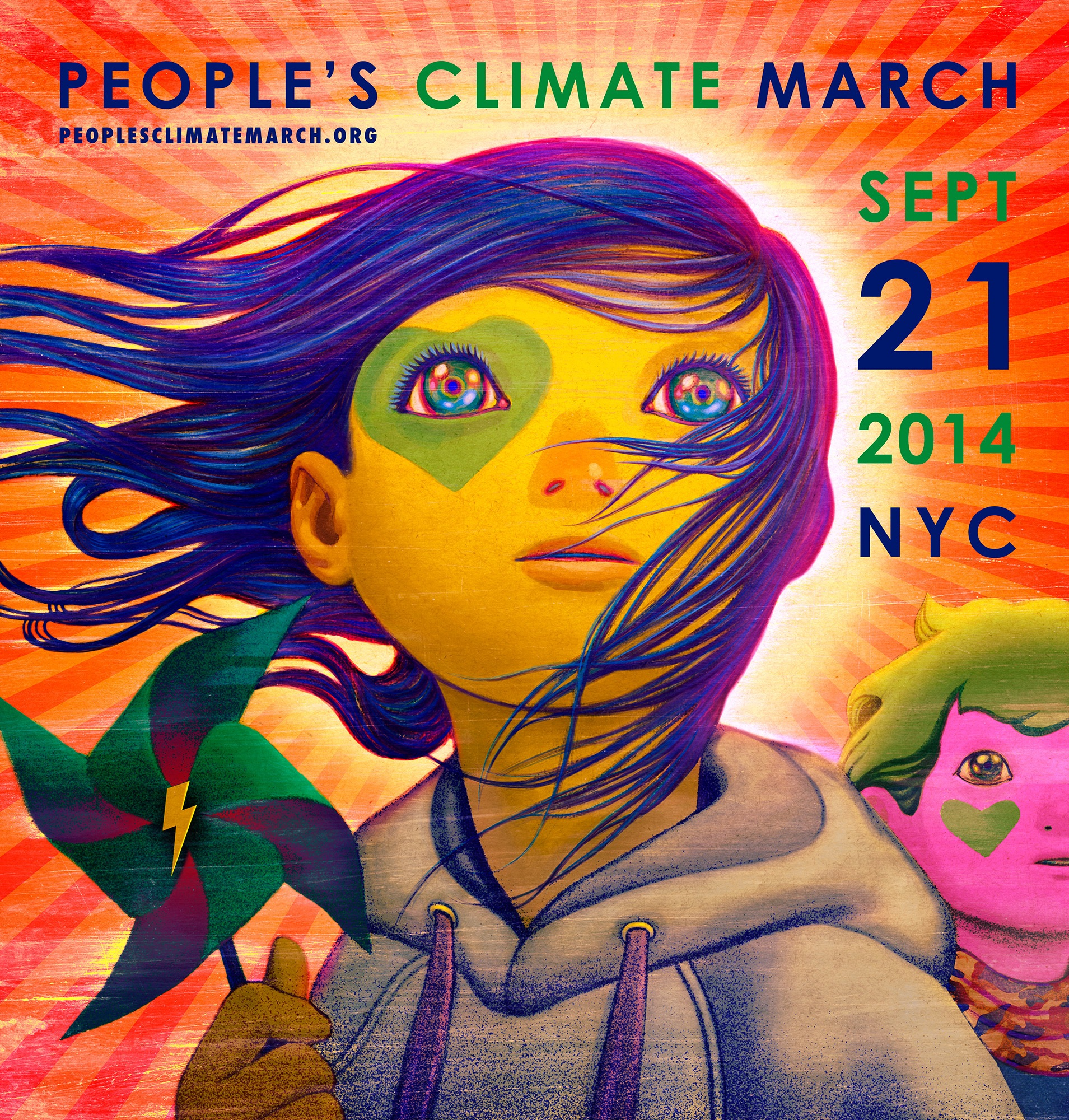 New York gets psyched for the People's Climate March