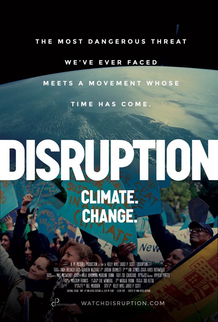 Disruption: A film about climate change being shown on campus!