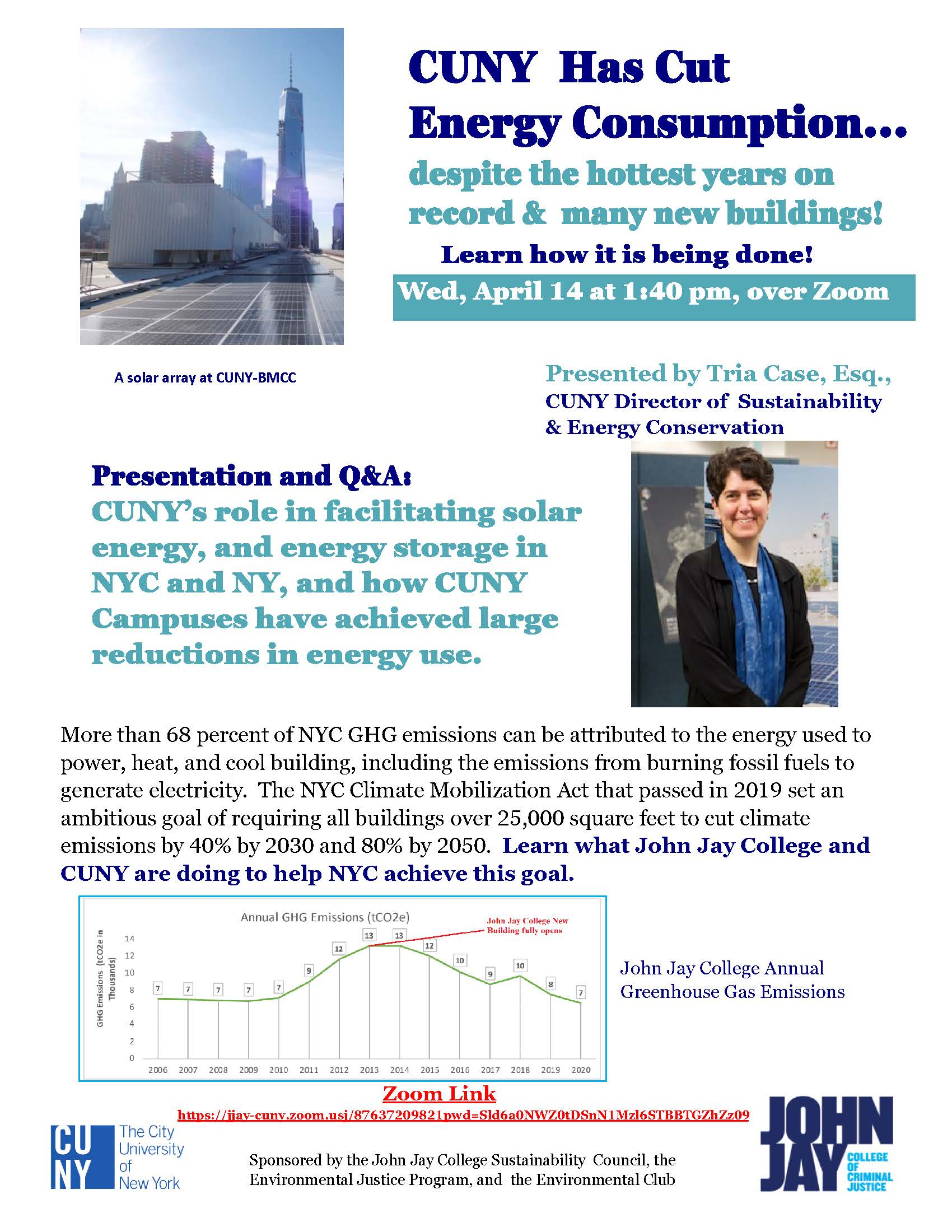 How CUNY is Reducing Emissions 40%